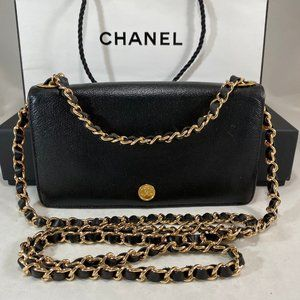 CHANEL CC Mark Wallet on Chain